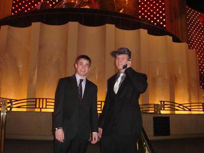 Trevor and Ben