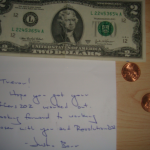 I'm $2.02 richer today after checking the mail!